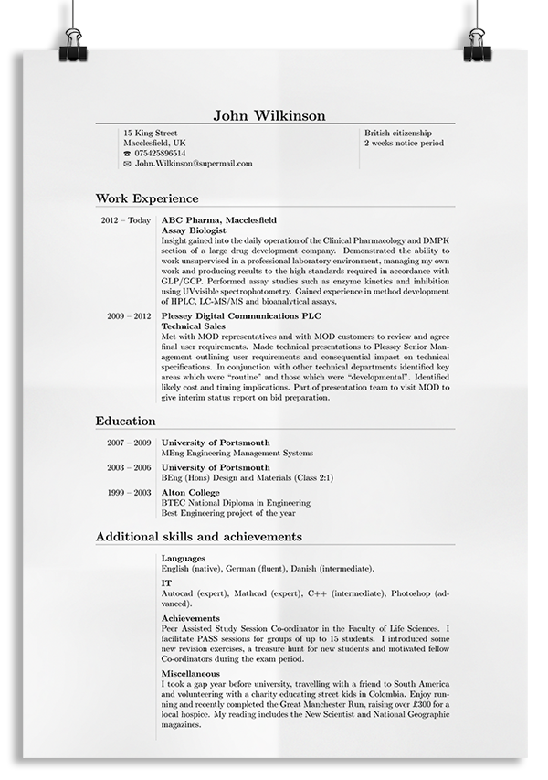 Seeveeze Write Your Cv Online Latex Resume Templates